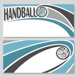 Background images for text on the theme of handball. Abstract background images for text on the theme of handball royalty free illustration