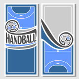 Background images for text on the theme of handball. Abstract background images for text on the theme of handball vector illustration