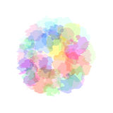 Background with imitation watercolor stains. Vector. Illustration Royalty Free Stock Photo
