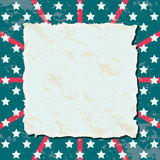 Background Independence Day. 4th of July blank background, Independence Day of America Royalty Free Illustration