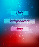 Background for Independence Day Stock Images