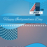 Background Independence day card july 4  eps 10 Royalty Free Stock Images
