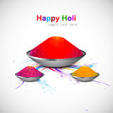Background of indian festival colorful holi Stock Image