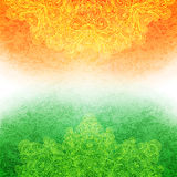 Background for Indian Republic day. Background for Indian Independence day. Vector illustration of Indian flag theme Royalty Free Illustration