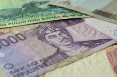 Background from Indonesian rupiah Royalty Free Stock Image