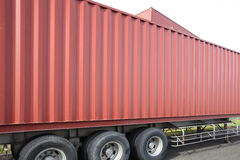 Freight shipping containers Stock Photo