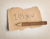 Background for an inscription. A paper not sand. Royalty Free Stock Photo