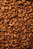 Background of Instant coffee Royalty Free Stock Photo