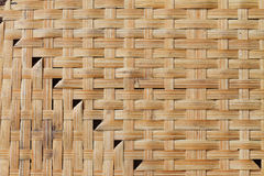 Background of interlace bamboo stripe Stock Images