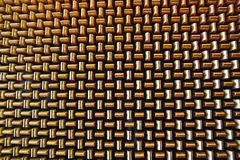 Background of Intersecting Gold Bars Royalty Free Stock Photos