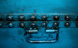 Background iron box Royalty Free Stock Images