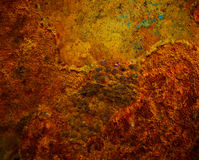Background of iron rusty Royalty Free Stock Images