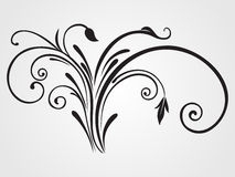Background with isolated tattoo Royalty Free Stock Image