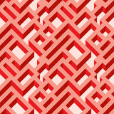 Background 136. Isometric seamless maze pattern. Abstract endless ornament texture.Geometrical abstract background royalty free illustration