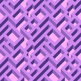 Background137. Isometric seamless maze pattern. Abstract endless ornament texture.Geometrical abstract background stock illustration