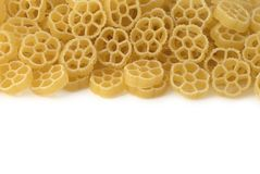 Background with italian pasta. Background with wheaten italian pasta Stock Images