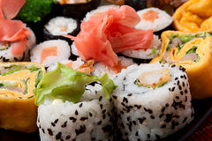 Background of japanese traditional food. Series japanese food Royalty Free Stock Images