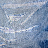 Background jeans blue old Stock Image