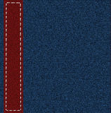 Background from a jeans fabric Royalty Free Stock Images