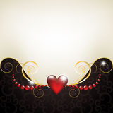 Background with jewelry frame Stock Images