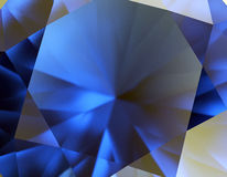 Background of jewelry gemstone. Facet. Sapphire stock images