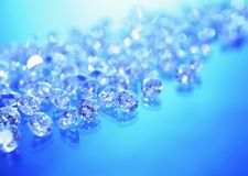Background with jewels Stock Photography