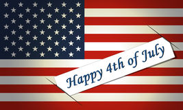 Background for July 4th. Stock Photography