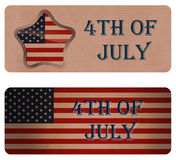 Background for July 4th. Royalty Free Stock Photo