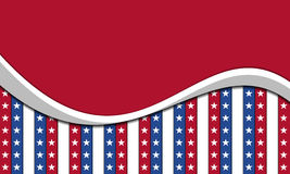 Background for July 4th. stock illustration