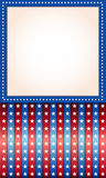 Background for July 4th. Royalty Free Stock Image