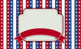Background for July 4th. Stock Image