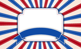 Background for July 4th. Stock Photo
