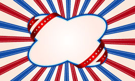 Background for July 4th. Royalty Free Stock Photos