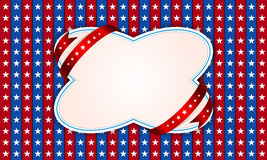 Background for July 4th. Stock Images