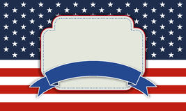 Background for July 4th. Royalty Free Stock Images