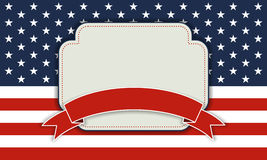 Background for July 4th. Stock Photos