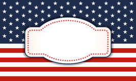 Background for July 4th. vector illustration