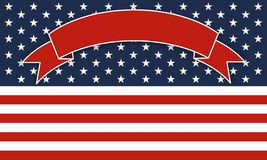 Background for July 4th. royalty free illustration