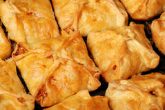 Background from just baked house rolls Royalty Free Stock Image