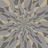Background of kaleidoscope pattern with vintage tone Royalty Free Stock Photo