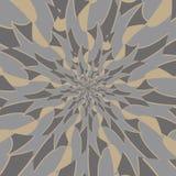 Background of kaleidoscope pattern with vintage tone Royalty Free Stock Photo