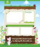 Background for kid template Stock Photo