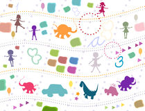 Background for kids Royalty Free Stock Photography