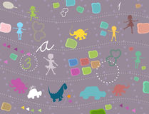 Background for kids Royalty Free Stock Photo