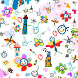 Background for kids stock illustration