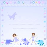 Background for kids Stock Images