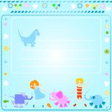 Background for kids Stock Image