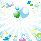 Background for kids Stock Photos