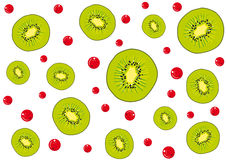 Background kiwi Royalty Free Stock Image