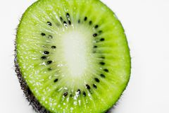 This picture is a kiwifruit on white background Stock Photos